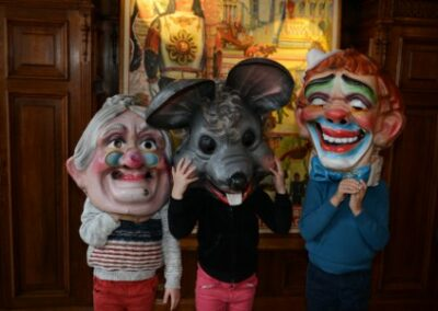 A vos masques