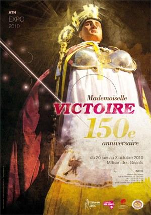 Mademoiselle Victoire, 150e anniversaire