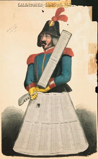 Affiche samson 1848